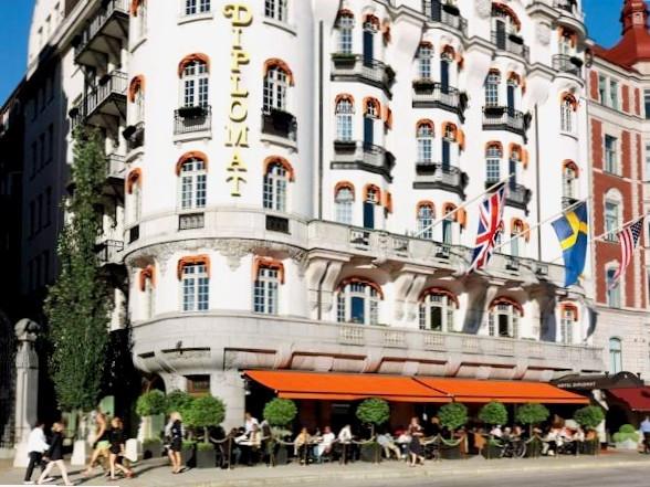 hotel diplomat stockholm n. Black Bedroom Furniture Sets. Home Design Ideas