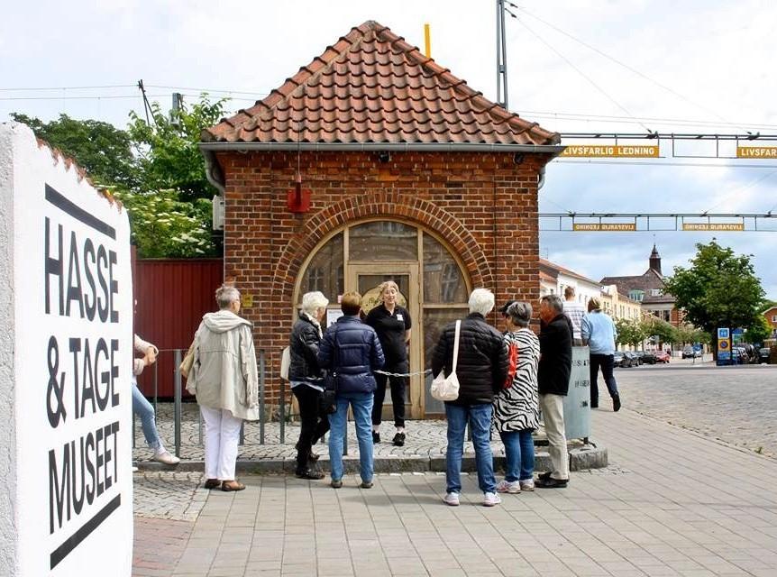 Världens minsta filmmuseum - Världens största Hasse   Tage museum. 0d9816caf454f